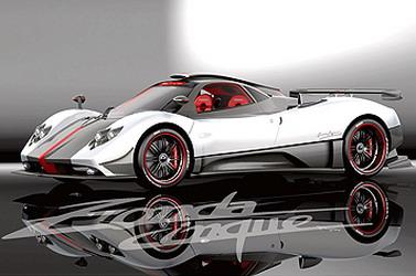 Zonda Cinque Roadster — новый болид от автоконцерна Pagani