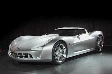 Чикагский Автосалон 2009, GM выкатил макет Corvette Stingray