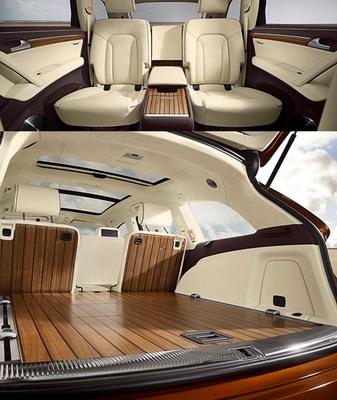 Audi Q7 exclusive concept — элитная сухопутная яхта