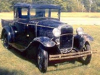 Форд-А 1931 года выпуска