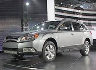 Внедорожник Subaru Outback 4 поколения