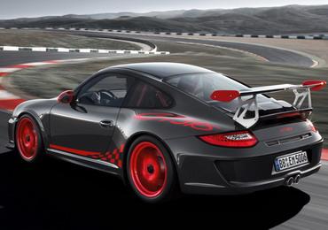 Спортивный автомобиль 2010 Porsche 911 GT3 RS