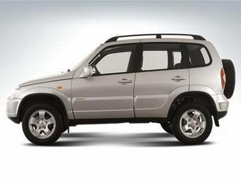 Chevrolet Niva - объемы продаж растут
