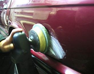 Абразивная (восстанавливающая) полировка кузова автомобиля