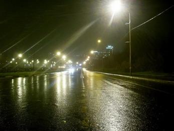 Вождение автомобиля ночью - будьте бдительны!