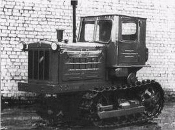 Легенда машиностроения - трактор Т-38