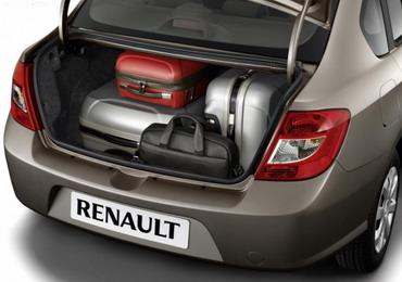Багажник Renault Symbol 2009 стал более вместительным