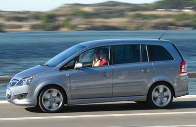 Opel Zafira - комфортный минивэн на российском рынке