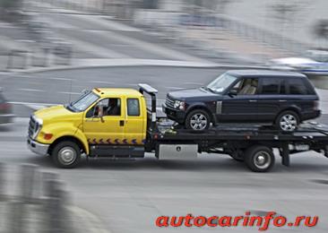 Правила буксировки транспортного средства на мягкой сцепке