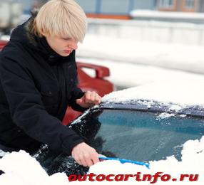 Уход за автомобилем зимой и ранней весной