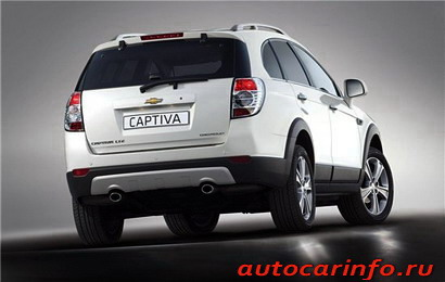Chevrolet Captiva 2011 скоро в продаже
