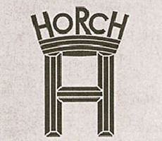 Логотип Horch, предшественника Audi