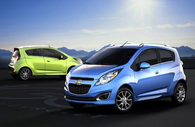 Chevrolet Spark EV: электромобиль от GM выйдет в 2013 году