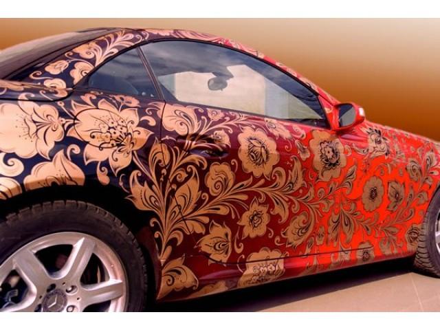 Аэрография автомобиля — модная фишка