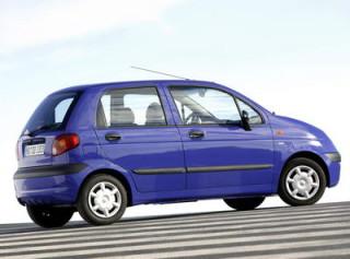 Daewoo Matiz II вид сзади