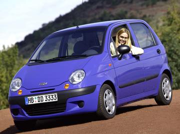 Matiz Daewoo (Chevrolet) — лидер продаж в России, Украине и Узбекистане