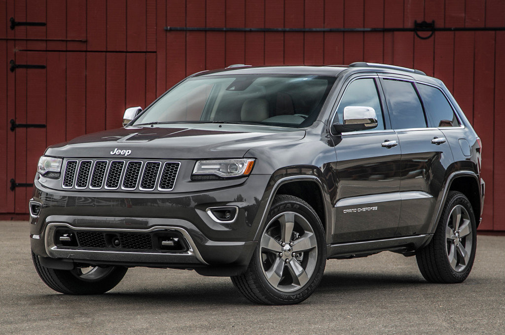 Новый Jeep Grand Cherokee 2015 — мощь и красота