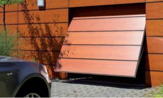 подъёмно-поворотные гаражные ворота