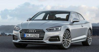 Audi A5 Coupe 2016 — спортивный седан