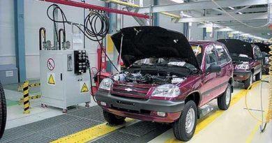 Внедорожники Chevrolet NIVA начали выпускать в Казахстане