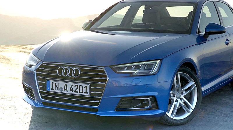 Обзор Audi A4 2017