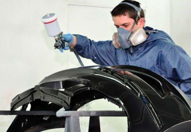 Как покрасить бампер автомобиля