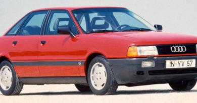 Audi 80 с двигателем 1.8s