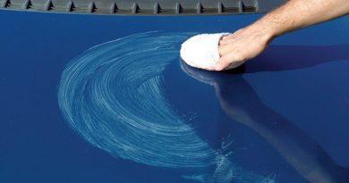Средства устранения сколов и царапин на лакокрасочном покрытии кузова